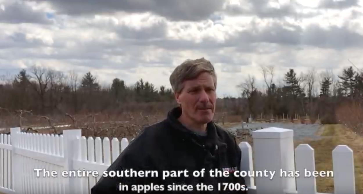 Kevin Bowman Of Bowman Orchards Discusses The Growth Of His Farm In Upstate NY