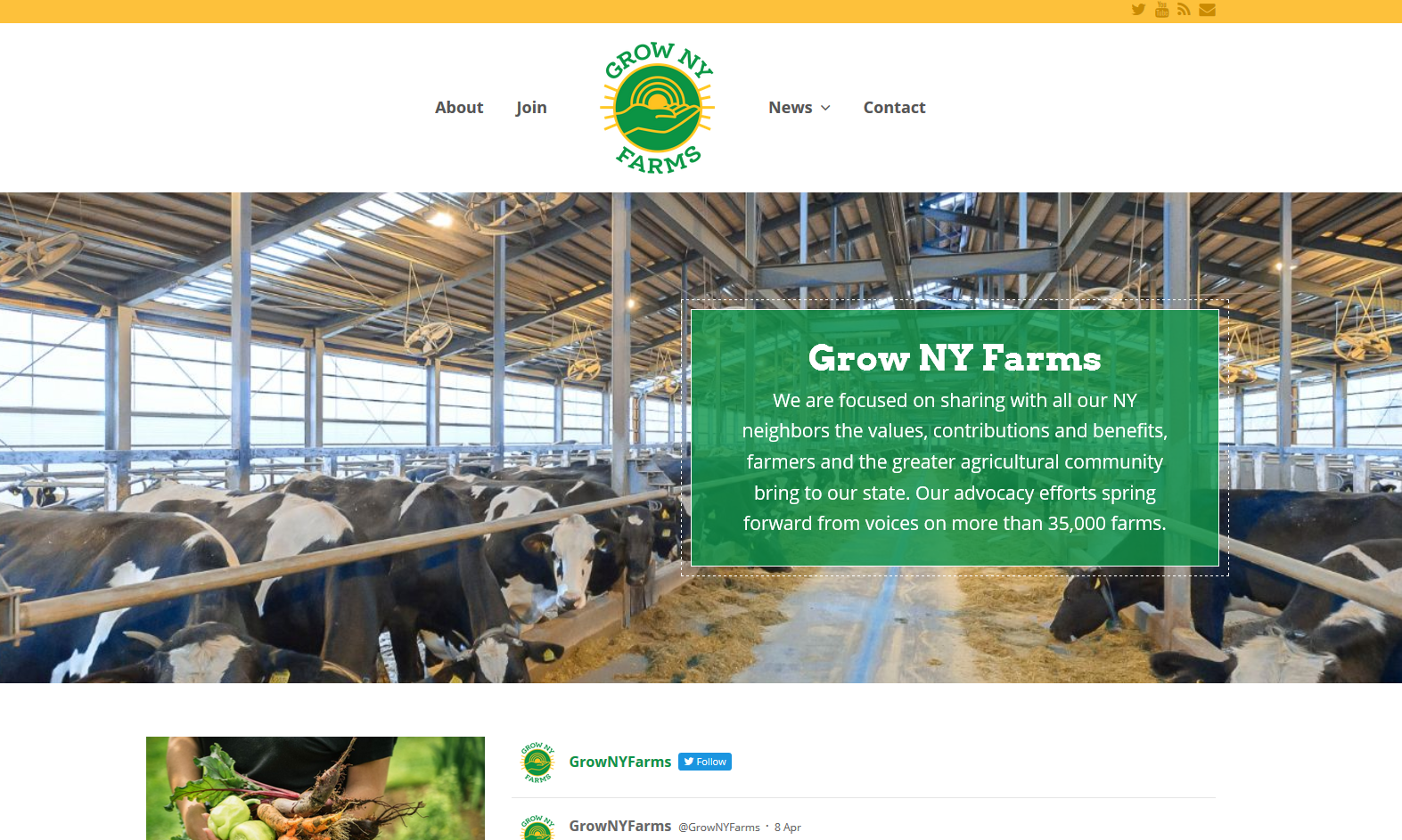 Grow NY Farms Launches New Website