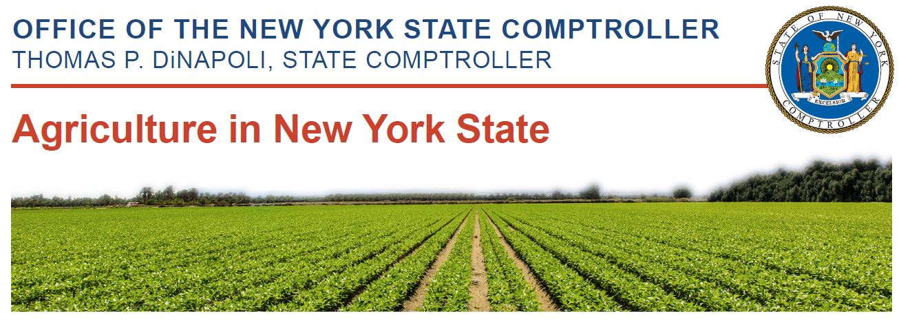 Report: State Of Agriculture In New York