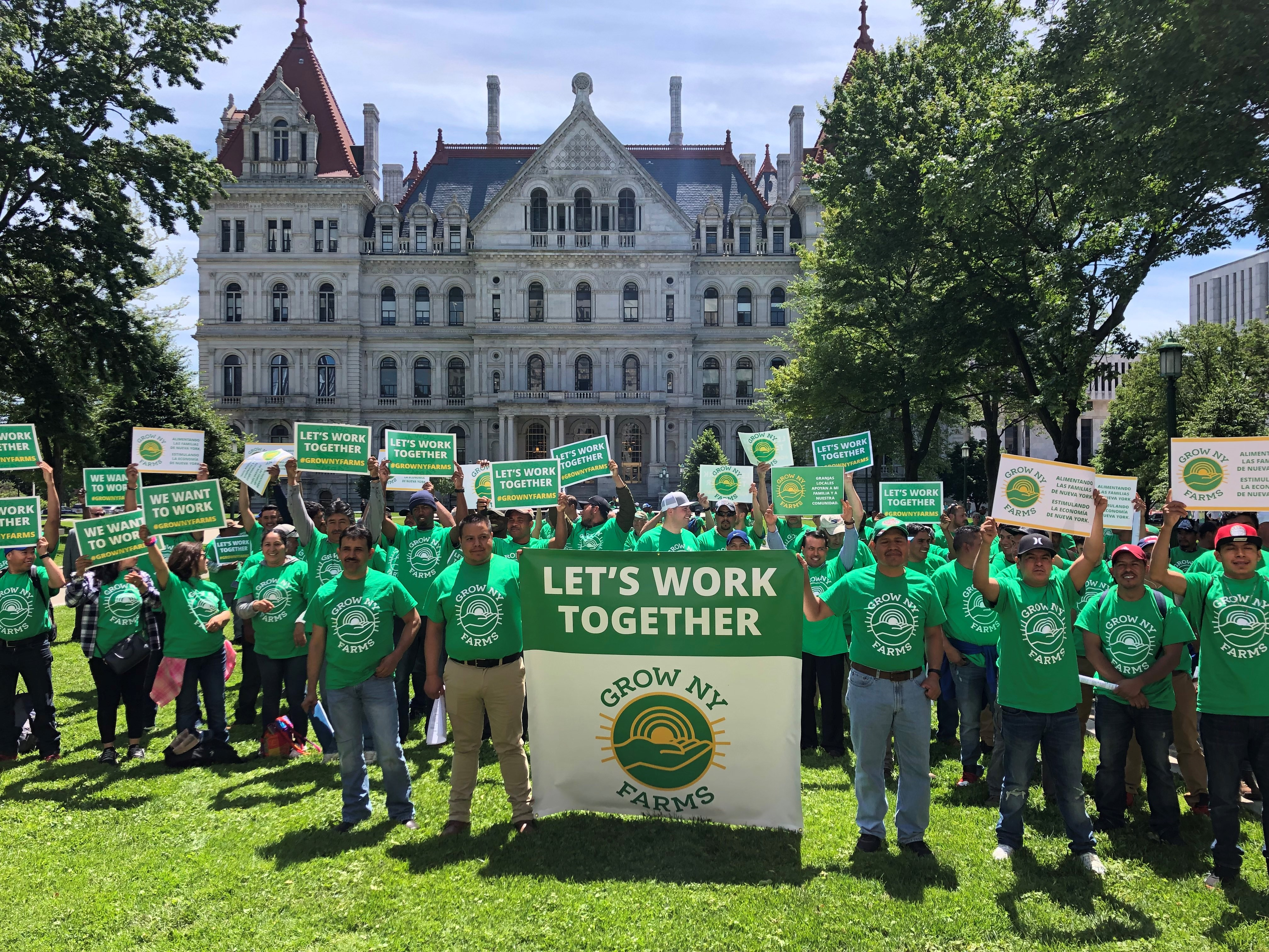 News Release: More Than 300 Farmers And Farmworkers Visit Albany